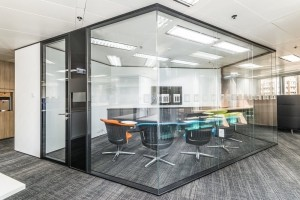 Egood Type 108 full view glass partition wall