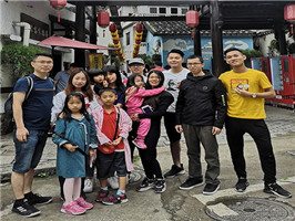 Egood Partition Company staffs' trip in the May Day holiday